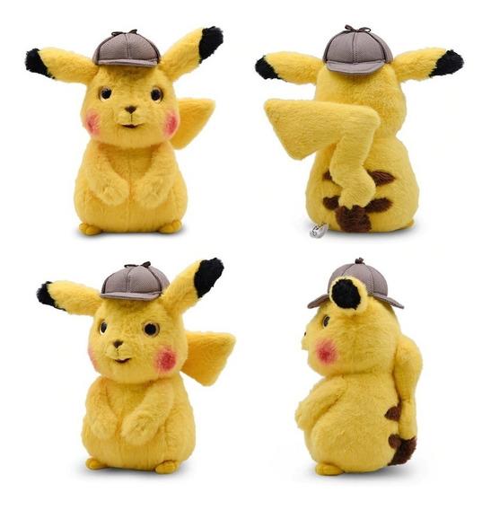 Detetive Pikachu O Filme - Pelúcia Original E Nova 25cm M2