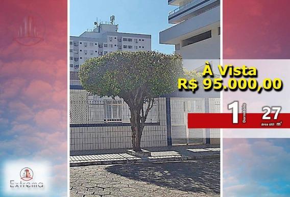 Kitnet Em Praia Grande No Canto Do Forte - Kn0110
