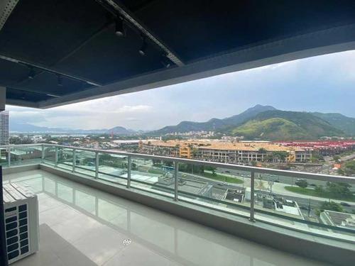 Imagem 1 de 15 de Barra One Carioca Residences - Abm - Porteira Fechada -  Totalmente Reformado - Reap30106