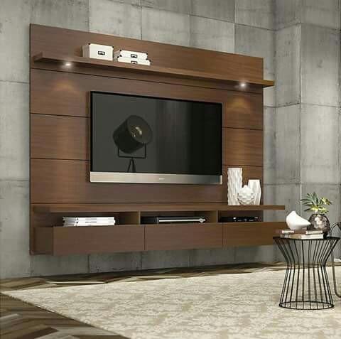 Mueble Centro De Entrenimiento Tv Moderno Consola Recibidor