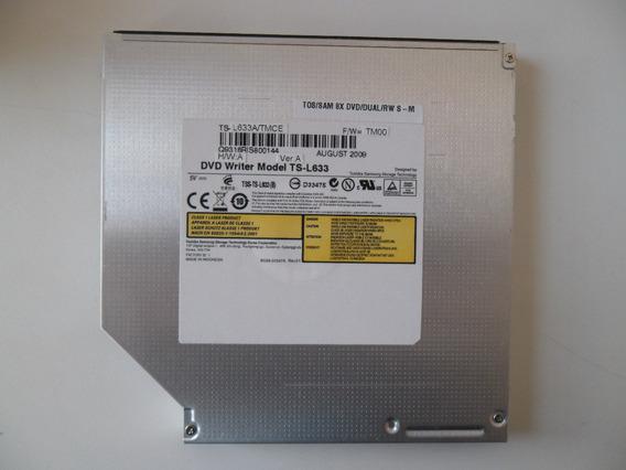 Gravador De Dvd Notebook Sata Toshiba Samsung Ts-l633(b)