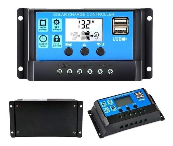 Controlador De Carga Solar 60a 12v/ 24v