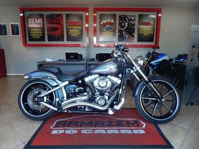 Harley Davidson Breakout Fxsb 2015 Cinza Gasolina