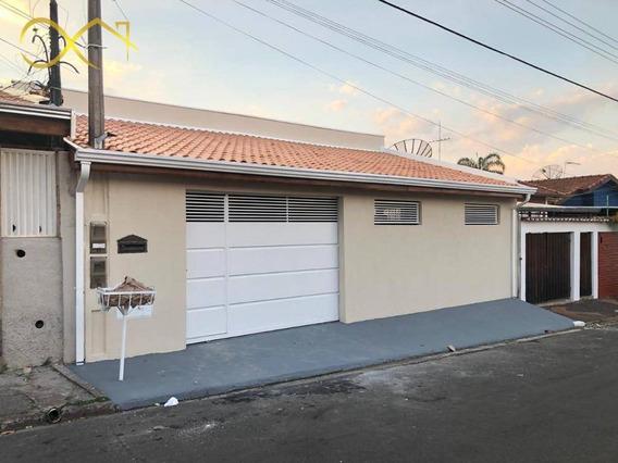 Casa Térrea Com 3 Dormitórios À Venda, 167 M² - Vila Monte Alegre Ii - Paulínia/sp - Ca1803