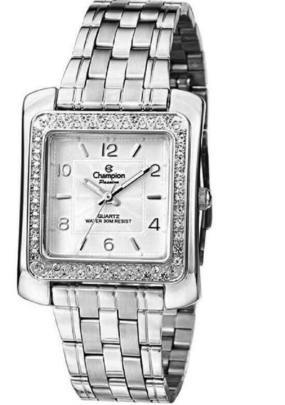 Relógio Champion Passion Prateado Feminino Cn28606q