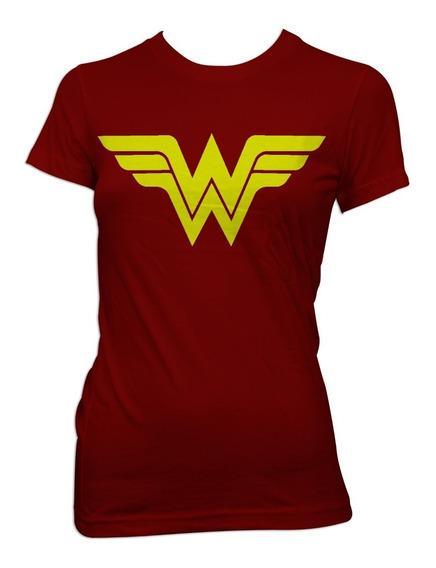 Playeras Super Heroes, Mujer Maravilla, Flash, Linterna Verd