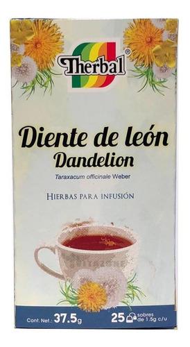 Imagen 1 de 3 de Té Diente De León 25 Sobres Therbal