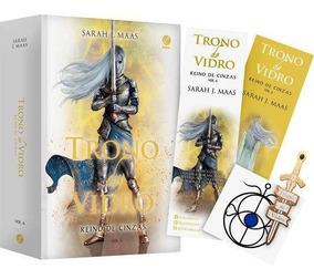 Livro Trono De Vidro: Reino De Cinzas Vol 6