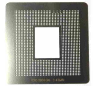 Stencil Estencil Calor 0,50 Cxd 2999gg Cxd2999gb Cxd2999bgg