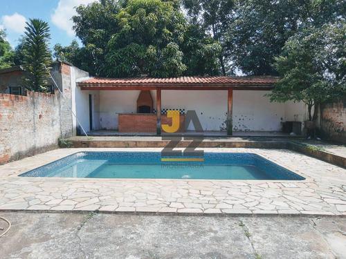 Chácara Com 4 Dormitórios À Venda, 2000 M² Por R$ 450.000,00 - Chácaras Recanto Da Colina Verde - Campinas/sp - Ch0652
