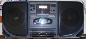 Rádio Gravador Japones Crown Cd-922