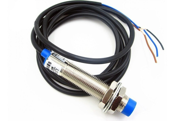 Sensor Indutivo Lj12a3-4-z/bx Npn Proximidade 4mm