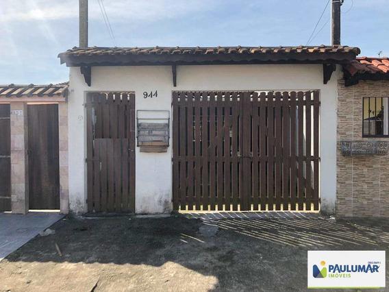 Casa Com 2 Dorms, Vila Atlântica, Mongaguá - R$ 165 Mil, Cod: 829605 - V829605