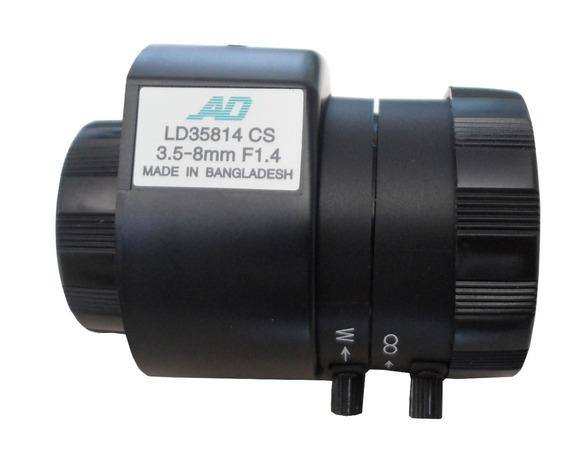 Lente Auto Iris 3.5 8mm American Dinamics Ld35814cs
