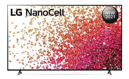 Imagen 1 de 3 de Tv LG Nanocell 50 Nano75 2021 4k Wifi + Magic Control