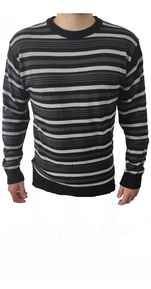 Sweater Hombre Pullover Hombre Escote Redondo Varios Colores