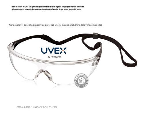 Óculos Uvex Proteção Millennia Sport Antiembaçante C/tira