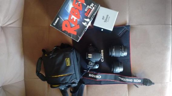 Câmera Canon T5i + 2 Lentes Canon