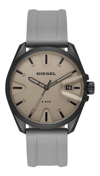 Relógio Diesel Masculino Ms9 3 Hand Preto Dz1878/8cn