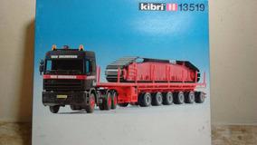 Kibri Caminhão Man 6x4 + 6 Eixos1/87 Em Pastico Aproveite!!!