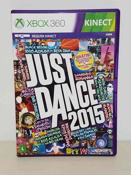 Just Dance 2015 Xbox 360 Original Midia Física Just Dance