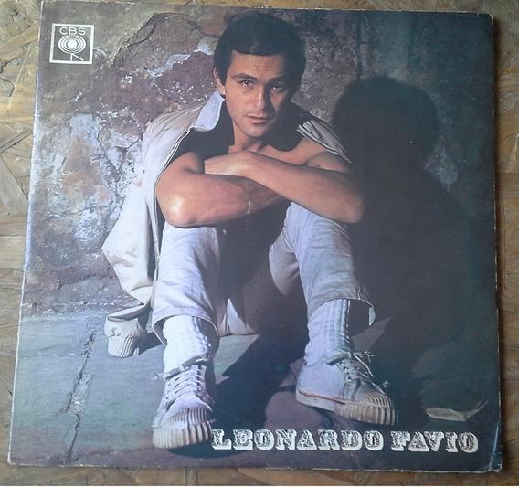 Disco De Vinilo Leonardo Favio 1970