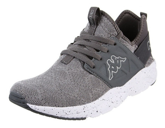 Zapatillas Kappa Unisex San Antonio Knitted Grey Dk White