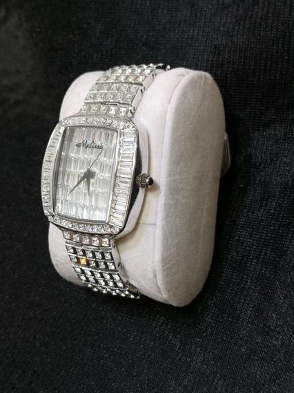 Relógio Feminino Japan Quartz - Cristal Swarovski - Swk001