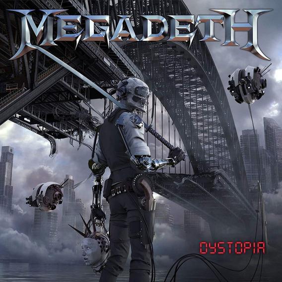 Lp Megadeth Dystopia 180g Lacrado Importado Pronta Entrega