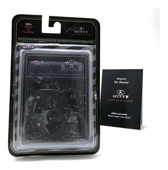 Refil Para Carteira Mitty Plástico 4 Divisões - Plm0