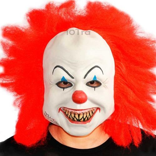 Mascara Payaso Malo Terror Disfraz Halloween Upd Egresados