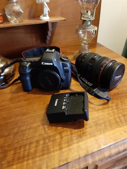 Câmera Digital Canon 5d Mark Ii Com Lente Ef 24-70mm 1:2:8