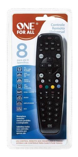 Imagen 1 de 2 de Control Remoto Universal One For All Urc2781 Para 8 Aparatos