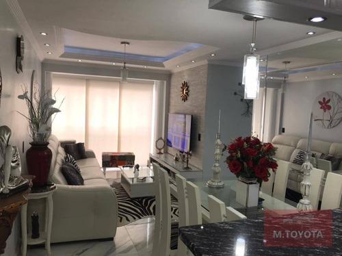 Imagem 1 de 23 de Apartamento Com 3 Dormitórios À Venda, 64 M² Por R$ 410.000,00 - Ponte Grande - Guarulhos/sp - Ap0178