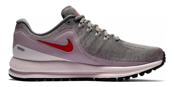Tenis Nike Feminino Cinza Com Rosa Sapatos Tênis Nike Com