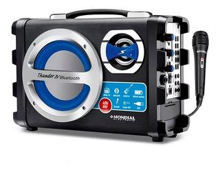 Parlante Bluetooth Mondial Moc-04 Portatil Usb Radio Fm Sd