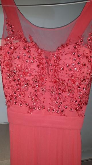 Vestido De Fiesta Largo Coral