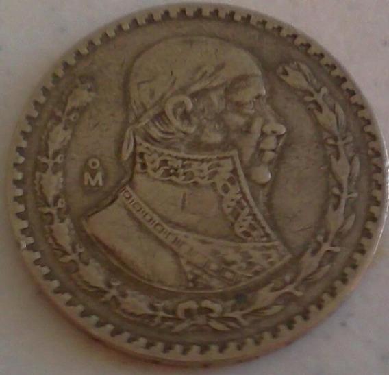 Colección 2 Monedas Pesos De Los 50 Y 60´s Plata .100