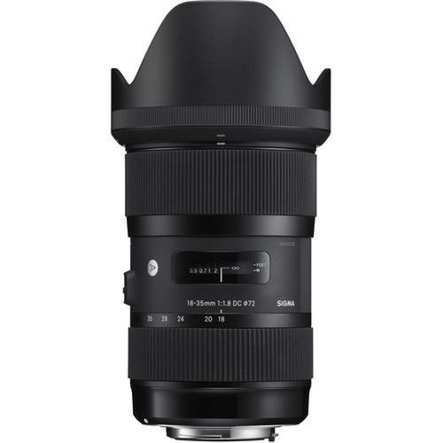 Lente Sigma 18-35mm F/1.8 Dc Hsm Para Canon - Lj. Platinum