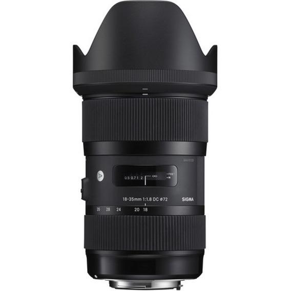Lente Sigma 18-35mm F/1.8 Dc Hsm P/ Canon - Loja Platinum