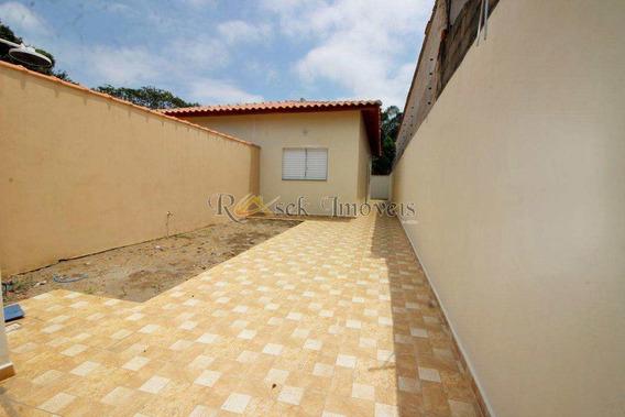 Casa Nova Com 1 Dorm, Lado Praia Em Itanhaém - Cod: 325 - V325