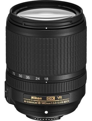 Lente Nikon 18-140mm F/3.5-5.6g