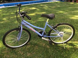Bicicleta Mila Rodado 24 - 18 Cambios