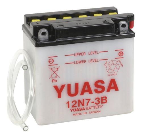 Batería De Moto Yuasa 12n7-3b, Delivery.