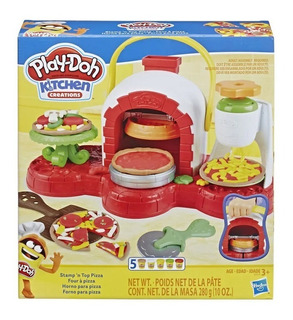 Play Doh Forno De Pizza Hasbro Massinha De Modelar
