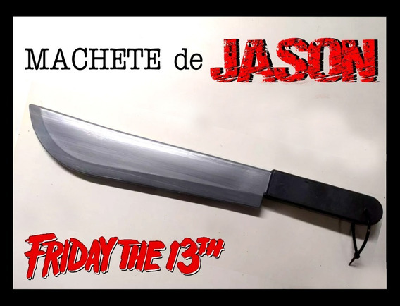 Cuchillo Machete Jason Para Disfraz Chucky, Purga, Halloween