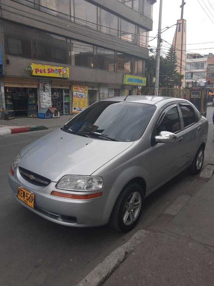 Aveo Family 2010 38462 Km Plata
