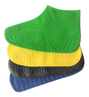 Protector Zapato Latex Durable Higienico Tallas S M L Y Xl