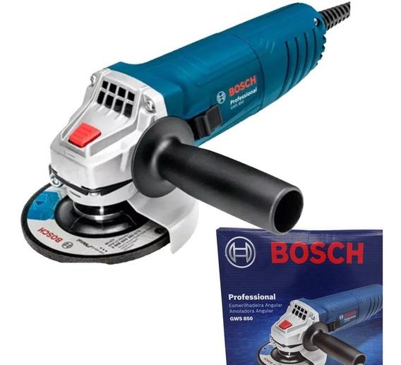Esmerilhadeira Profissional 850w 115mm Bosch Gws 850 C