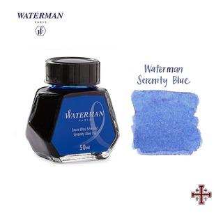 Tinta Para Pluma Fuente. Waterman 50 Ml. Color Azul.